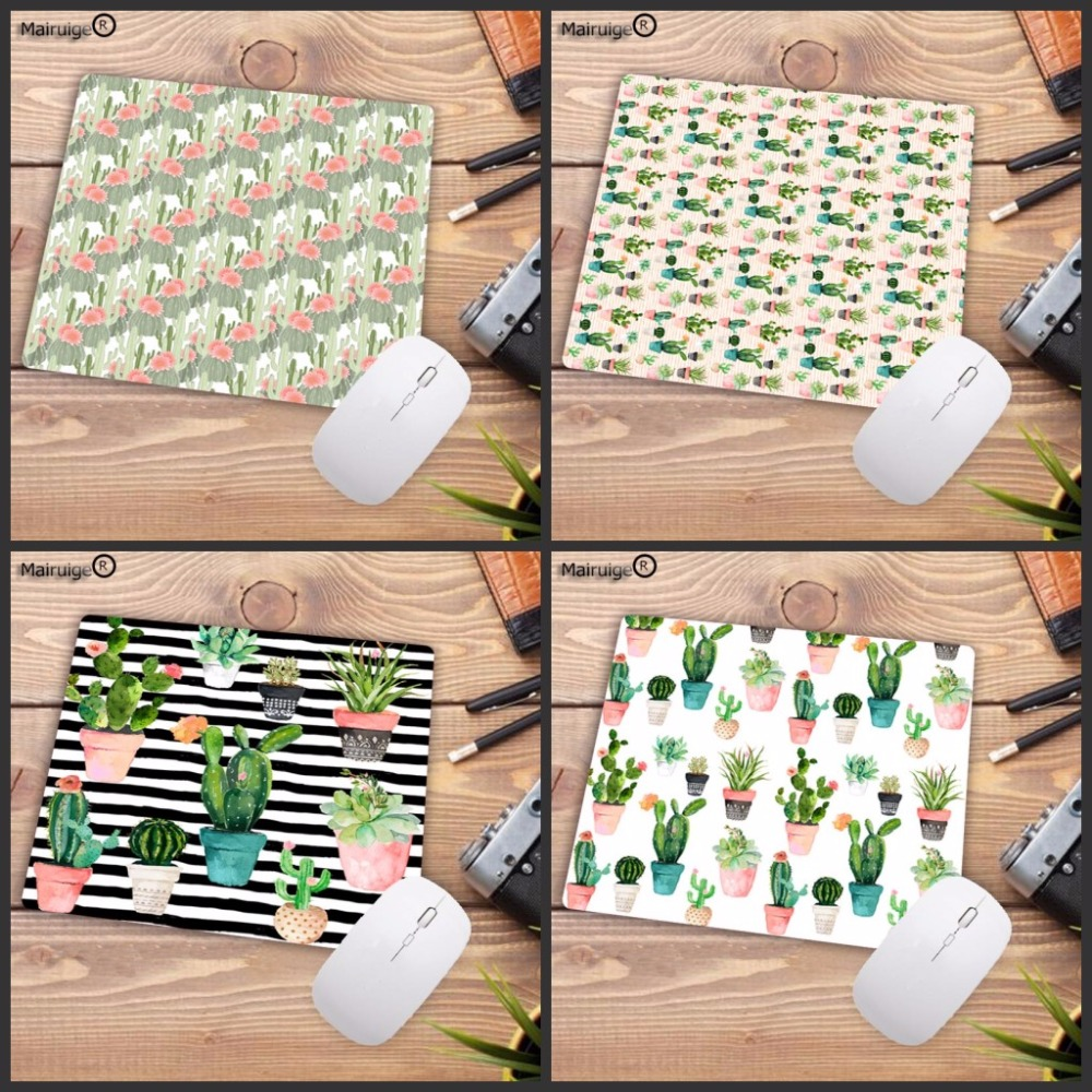 Mairuige Boy Gift Pad Desert Cactus Small Gaming MousePads For Dota2 LOL Mouse Pad Gamer Decorate Your Desk At Home And Office