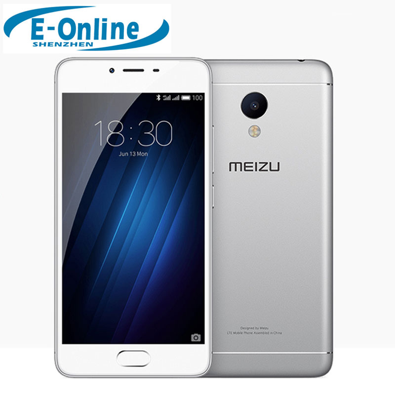 "Original Meizu M3s  4G LTE Cell Phone 2.5D Glass Screen MTK6750 Octa Core 5.0"" Screen 13MP 4G LTE Fingerprint"