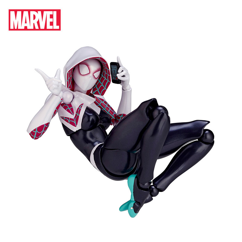 Marvel The Avengers Super Hero Spider Woman Movie&TV Toy Action Figure Collection Model Doll For Christmas New Year's Gift new the walking dead the governor tv series amc 12cm pvc action figure model toys for gift