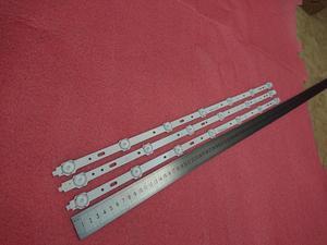 Image 2 - 3pcs/set LED backlight strip for 32PFL3107H12 32W1334B 32W1333B 32L2200U SVS320AD7 SVS320AA6 LTA320AP33 LC 32LD135K 32L2200U