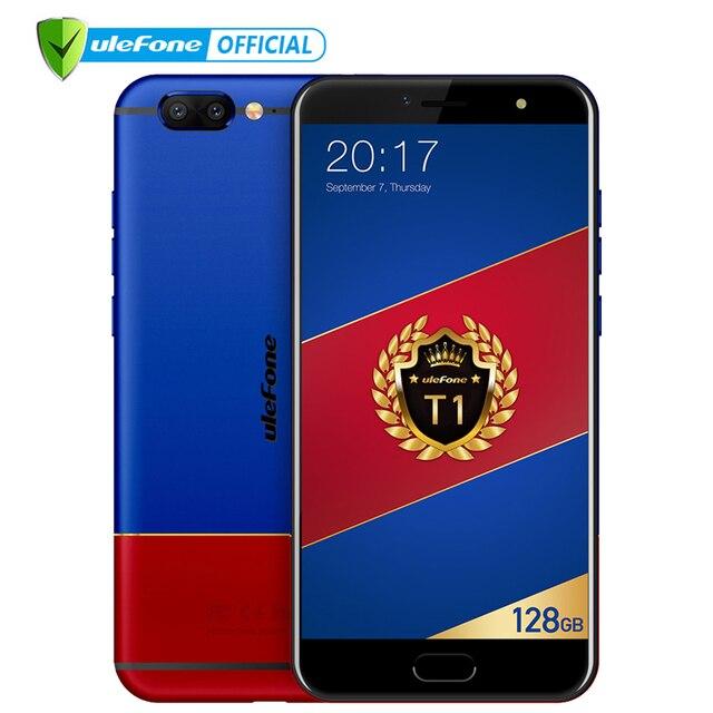 "Ulefone T1 Premium Edition Mobile Phone 5.5"" FHD Helio P25 Octa Core Android 7.0 6GB 128GB 16MP Cam Fingerprint 4G Smartphone"