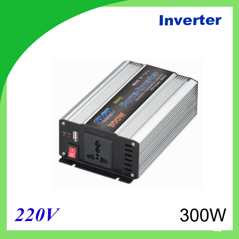 300W Voltage Converter To 220V Modified Sine Wave Power Inverter 12V/24V 220V DC