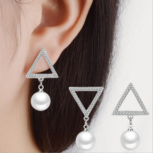 Everoyal Charm Pearl Gold Female Earrings Jewelry New Fashion 925 Silver Stud For Women Party Accessories Lady Bijou