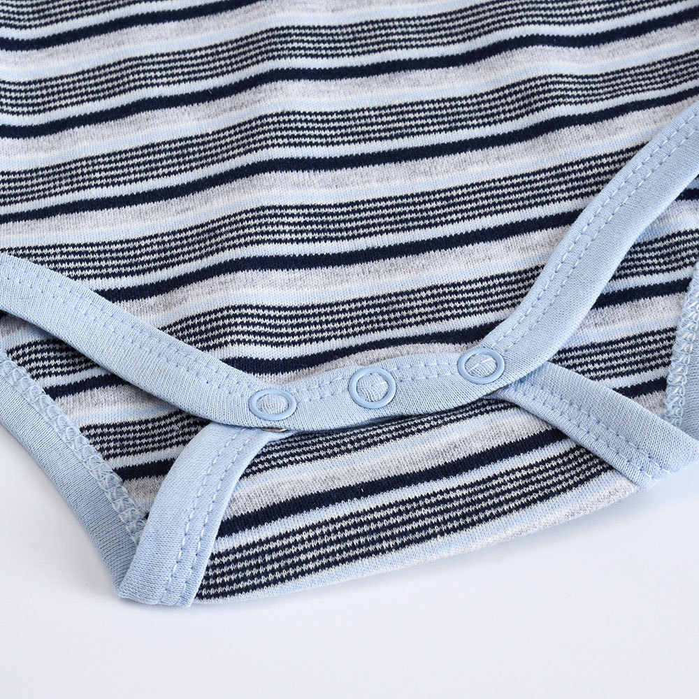 2019 Newly 100% Cotton Baby Bodysuit Newborn Print Body Suit Fashion Summer Children Boy Long Sleeve Baby Toddler Jumpsuit