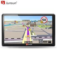 Junsun 7 zoll HD Auto GPS Navigation FM Bluetooth AVIN Europa Karte Kostenloses Upgrade Sat nav Automobil Gps Navigators