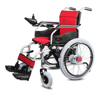 Cofoe Attractive And Reasonable Price Wheelchair High Quality Medical Equipment Power Folding Portable Electric Wheelchair