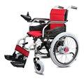 Cofoe yixianga3 equipo médico de calidad silla de ruedas de acero eléctrico portátil plegable ligera silla de ruedas eléctrica
