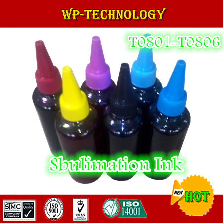 Sublimation refill ink specialized suit for Epson T0801 - T0806 ,suit for Epson  R265/R360/R285/RX585/RX685 etc,100mL per color refills for preventa mmf kable and sentry counter pens 2 pack [set of 3]