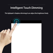 Stepless Dimming A4 LED Light Pad Diamond Painting Accessories Light box for Diamond Embroidery Dimmable Light Pad Tracing Tools стоимость