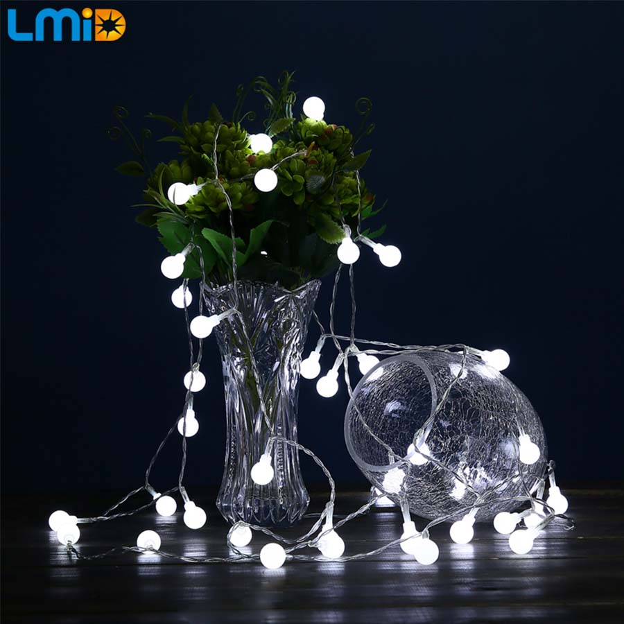 lmid holiday lighting christmas lights outdoor decoration led fairy lights battery operated garden decorative led lights