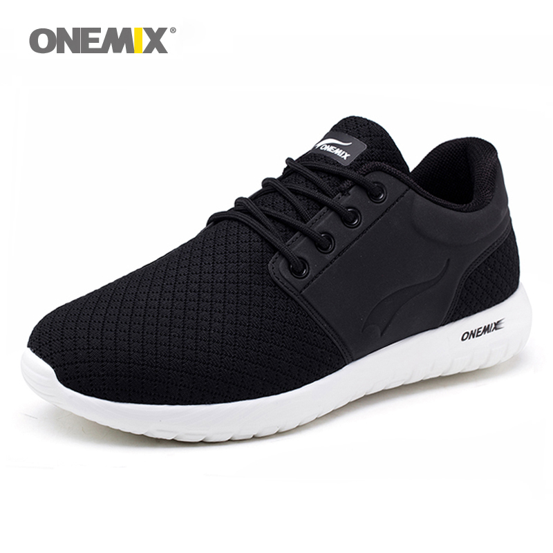 New Onemix Running Shoes for men Breathable Mesh Sports Sneaker Lightweight Cushioning DMX Sneakers for Outdoor Walking Shoes