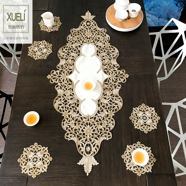 lace mantel Embroidery Table Runner Fabric Tea table cloth,Table mat table Cover decoration toalha de mesa tapeteslace mantel Embroidery Table Runner Fabric Tea table cloth,Table mat table Cover decoration toalha de mesa tapetes