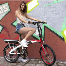 Lightweight Folding Electric Bicycle, Electric Bike, 20 Inch 7 Speed, 250W 36V/48V  Lithium Battery Fast Folding E Bike