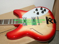 best china guitar Deluxe Model 360/12 STRING Electric guitar Semi Hollow Cherry Burst