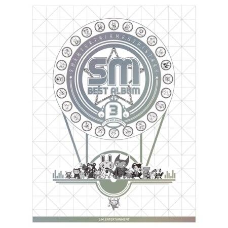 SM BEST ALBUM 3 SM TOWN KPOP sm g361hhadser