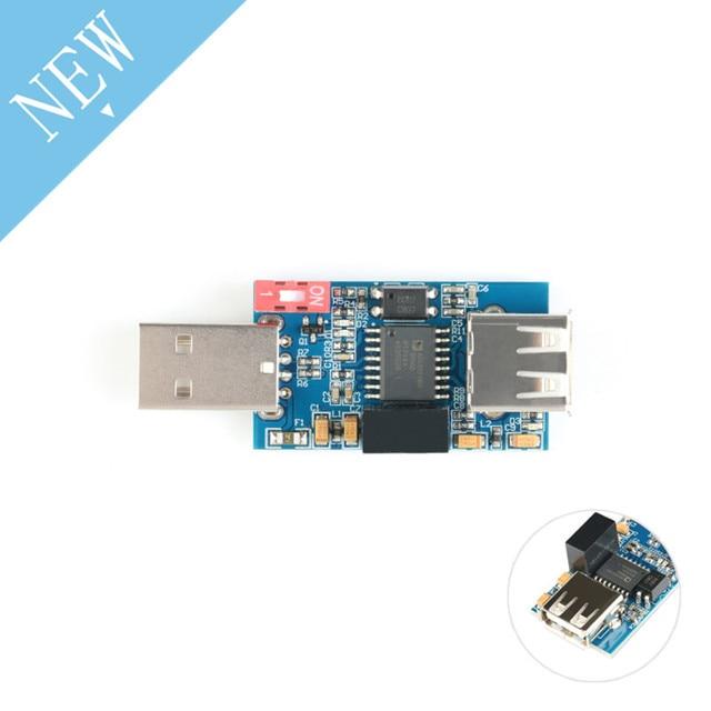 Isolator USB to USB Isolator Module Protection Board Isolation ADUM4160 ADUM3160 Single Isolation USB Module 1500V