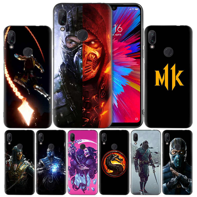 Mmoral Kombat силиконовый чехол для Xiaomi mi 9 8 Play A1 A2 Red mi Note 7 6 6A 5 Plus S2 GO Lite Pro Pocophone F1
