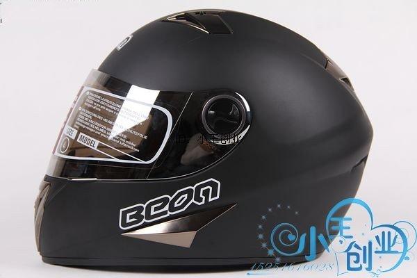 Freeshipping BCM001# BEON B-500 Classic Full Face Helmet Winter Helmet Racing Helmet International Version Motorcycle HelmetsN8