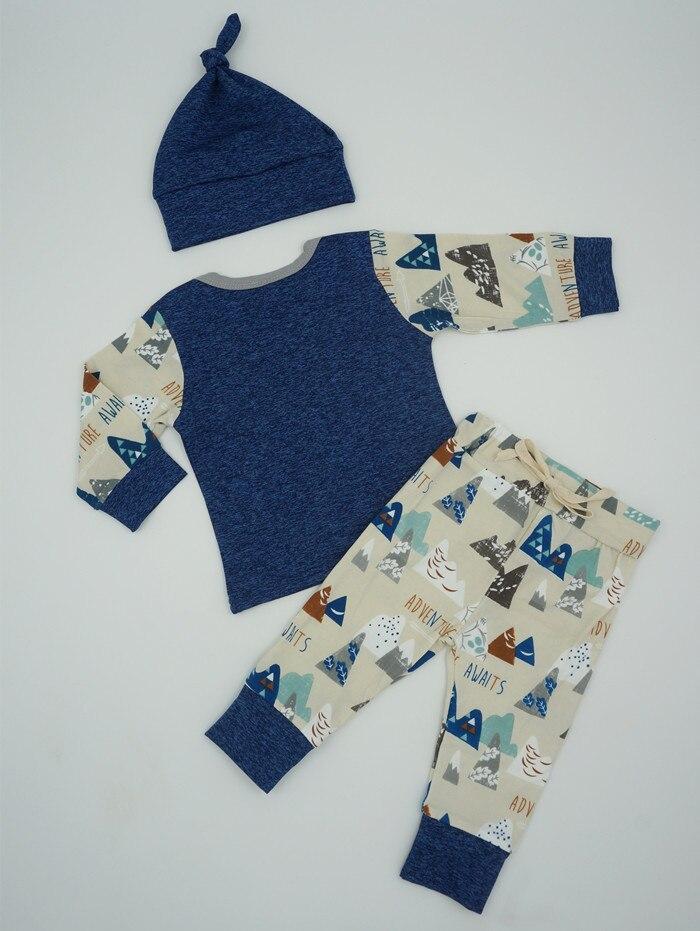2016 Zima Jesień Noworodka Ubrania Dla Niemowląt Zestaw Niemowląt - Odzież dla niemowląt - Zdjęcie 5