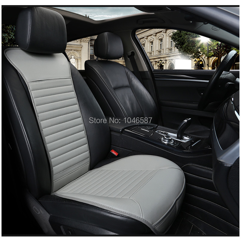 Leather car Seat Cover Universal Automobile Seat Cover Protector Auto Seat Breathable Non slip Cushion Car Styling Pad in Automobiles Seat Covers from Automobiles Motorcycles