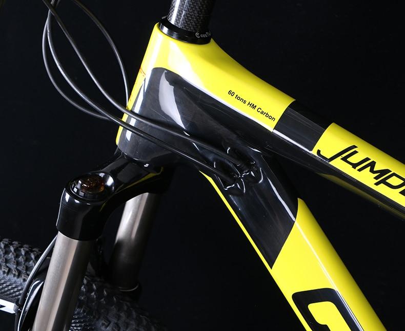 HTB1fPKaXaLN8KJjSZFmq6AQ6XXav - 27.5/29inch carbon fiber mountain bicycle Pneumatic shock 30/ 33 velocity carbon fiber body light-weight Cross nation weapon MTB