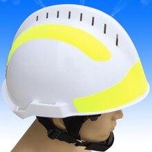 Материал ABS огонь спасательный шлем, f2 спасательный шлем, белый шлем используется для тушения пожаров