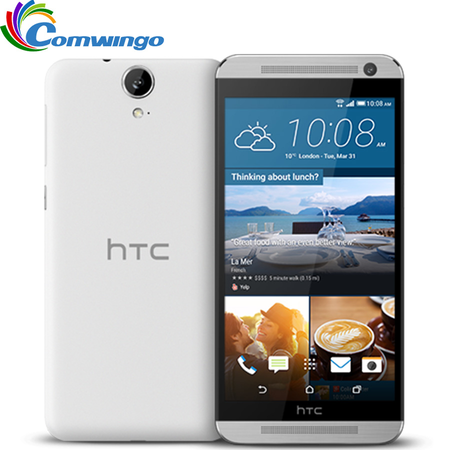 Original HTC One E9 & E9W 2G RAM 16G ROM smart phone Octa Core 2.0GHz MTK6795 5.5 inch 13MP FHD 1920 x 1080 FDD-LTE mobile phone image