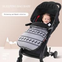 Baby Sleeping Bags Cotton Windproof and Waterproof Envelope for Newborn Footmuff for Stroller Sleeping Baby Sleep Sack In Winte