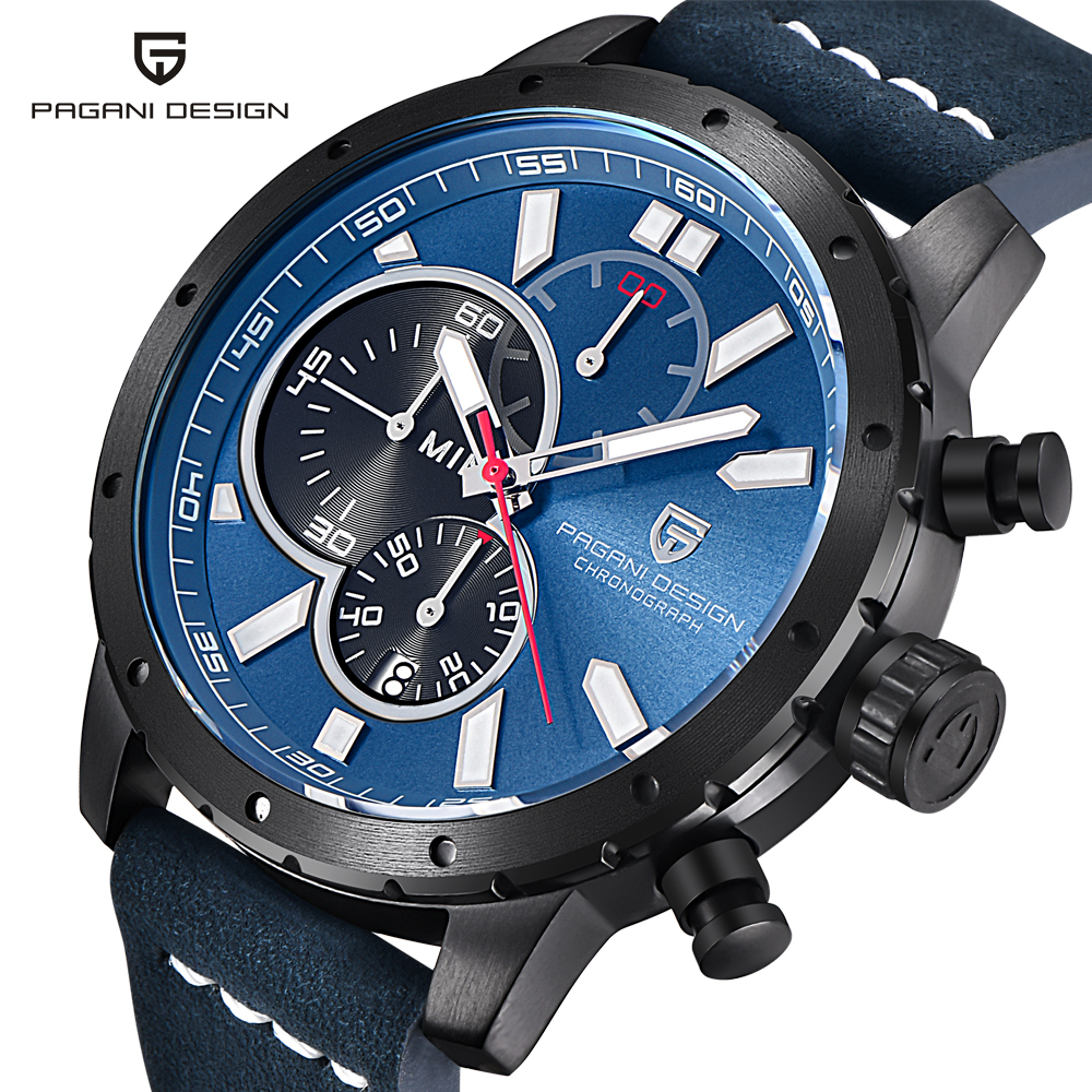 Fashion Chronograph Sport Mens Watches Top Brand Luxury Quartz Watch Reloj Hombre 2017 Clock Male hour relogio Masculino olevs fashion mens sport watches auto date rose gold leather quartz watch reloj hombre 2017 male clock hour relogio masculino