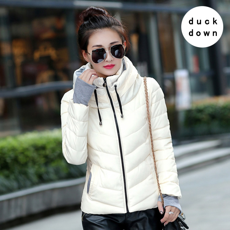 Duck Down Goose Down Girls and Mother Winter Down Coats Long Sleeve Slim Spring Autumn Women Short Jackets Warm Maternity Parka
