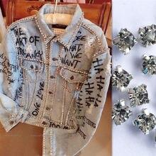 Patchs en strass et perles pour couture, 5mm, 1440 pièces, appliqués à coudre sur les vêtements bordas para costura