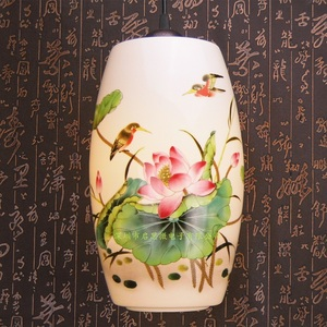 Image 2 - Nowa chińska lampa wisząca do kuchni jadalnia oprawa wisząca do salonu wiszące ceramiczne żyrandole do sypialni
