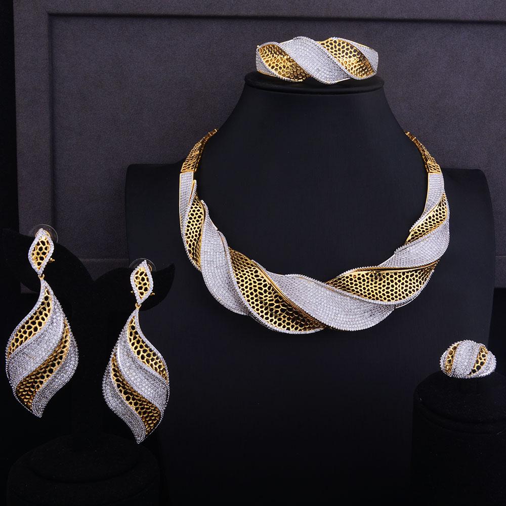 Luxury Twist Necklace Set  5