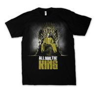 ALL Hail To The King T Shirt Men Game Of Thrones Breaking Bad Casual Gift Tee