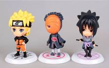 Full Set 12 Character Naruto Action Figure Key Chain