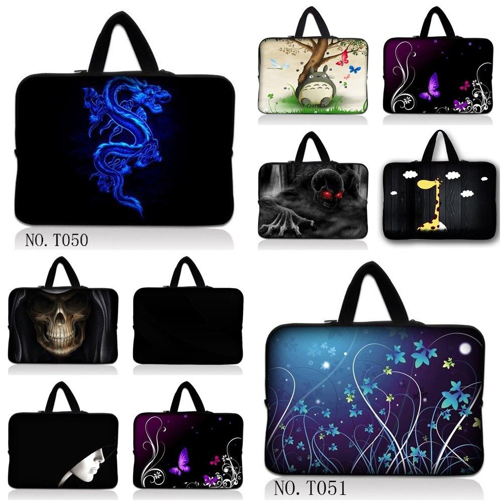2016 Fashion Neoprene Laptop Sleeve 11 12 13 14 15 Laptop Sleeve Bag Cover Case +Hide Handle for Macbook Air 13 Case Pro 13