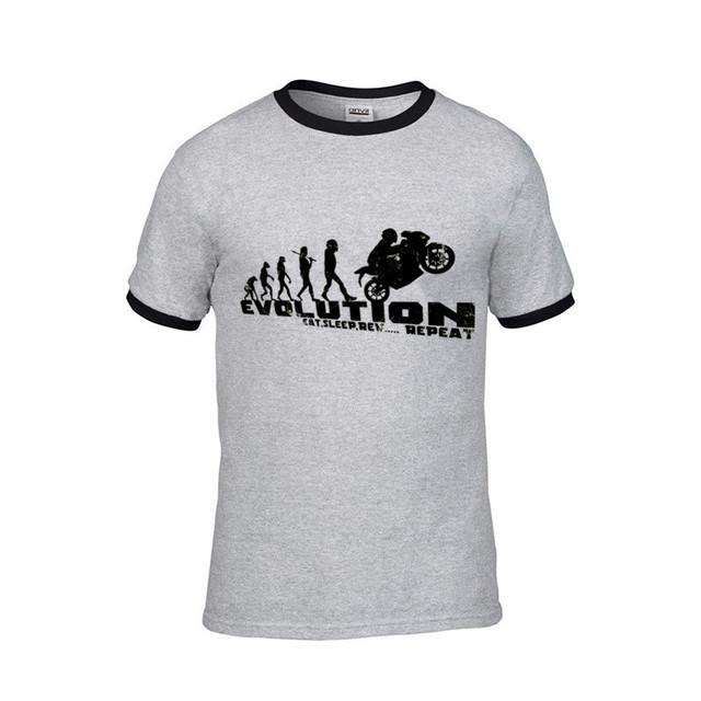 2018 streetwear Biker motorbikes motorcycles Suzuki Yamaha Ducati Honda evolution Men funny tshirt fortnit ahegao male t shirts