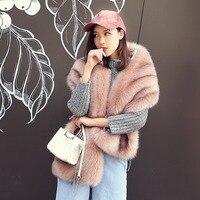 MIARA.L Korean style faux fox fur fur shawl scarf the bride bridesmaid dress cape cape thickening in winter female scarves