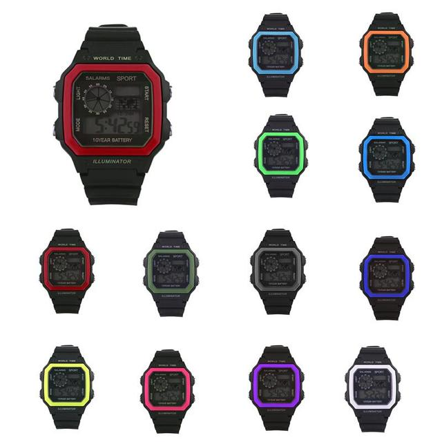 Children Waterproof Outdoor Sports Leisure Watch