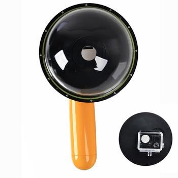 EACHSHOT Diving Underwater Waterproof Camera Lens Dome Port Lens Housing for Gopro Hero 3 3+/4 Camera Underwater Photography