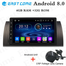 4GB RAM Octa Core Android 8.0 Car DVD For BMW 5 Series X5 E53 E39 E39 M5 Car GPS Navigation Car DVD Player Stereo Radio 4G WIFI