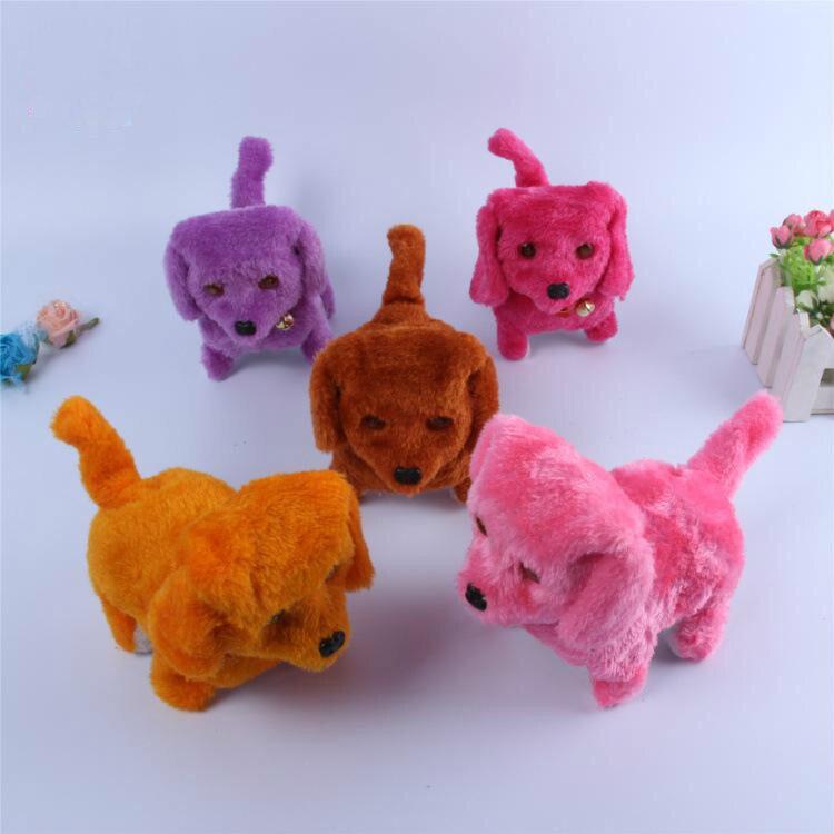 Dog Plush Puppy Wholesale Forward Backward Toys Electric Mini