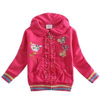 Winter Coat For Girl 2015 New Design Lolita Style Nova Lids Brand Long Sleeve Cotton With