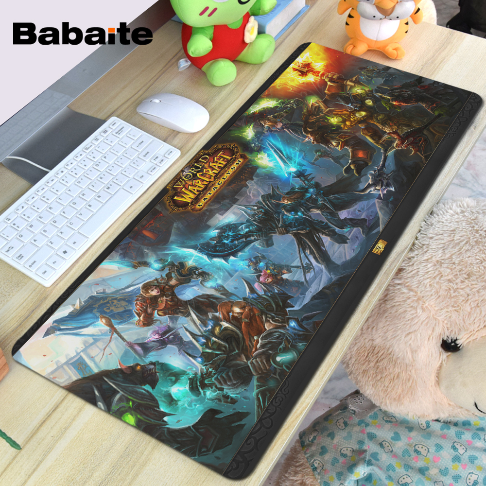 Babaite Super Large Size Optional Mouse Pad Natural Rubber Material Waterproof Desk Mat for 400X900X2MM babaite super large size optional mouse pad natural rubber material waterproof desk mat for 400x900x2mm