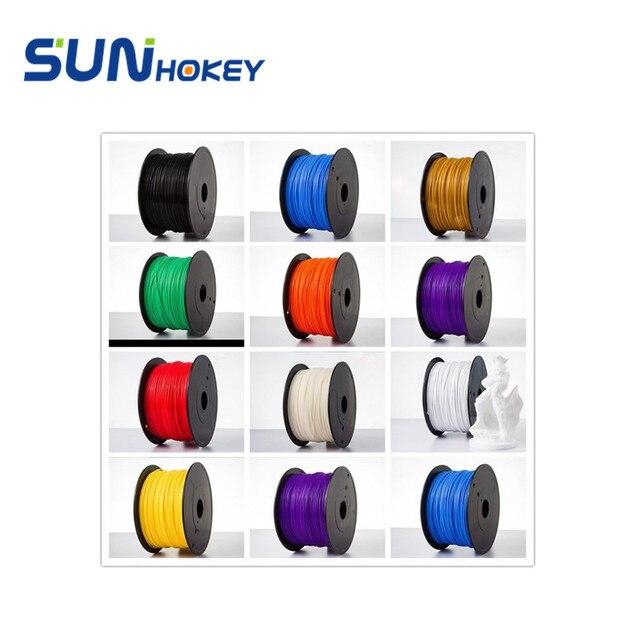Russian Warehouse 3D Printer Filament NET Weight 1KG/Roll ABS PLA1.75mm Filament For MakerBot/RepRap/Mendel/Delta /3D Pen