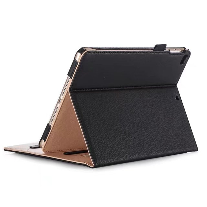 Premium PU Leather Case for iPad 6th Generation Cover Funda Hand Strap for iPad Air 1 2 iPad 9 7 2017 2018 Card Slots Pocket in Tablets e Books Case from Computer Office
