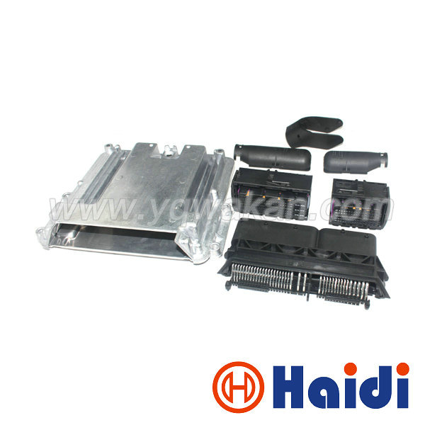 Free shipping 1set 154pin ECU Aluminum Enclosure Box with 154way Case Motor Car LPG CNG Conversion Male Female Auto Connector free delivery car engine computer board ecu 0261208075
