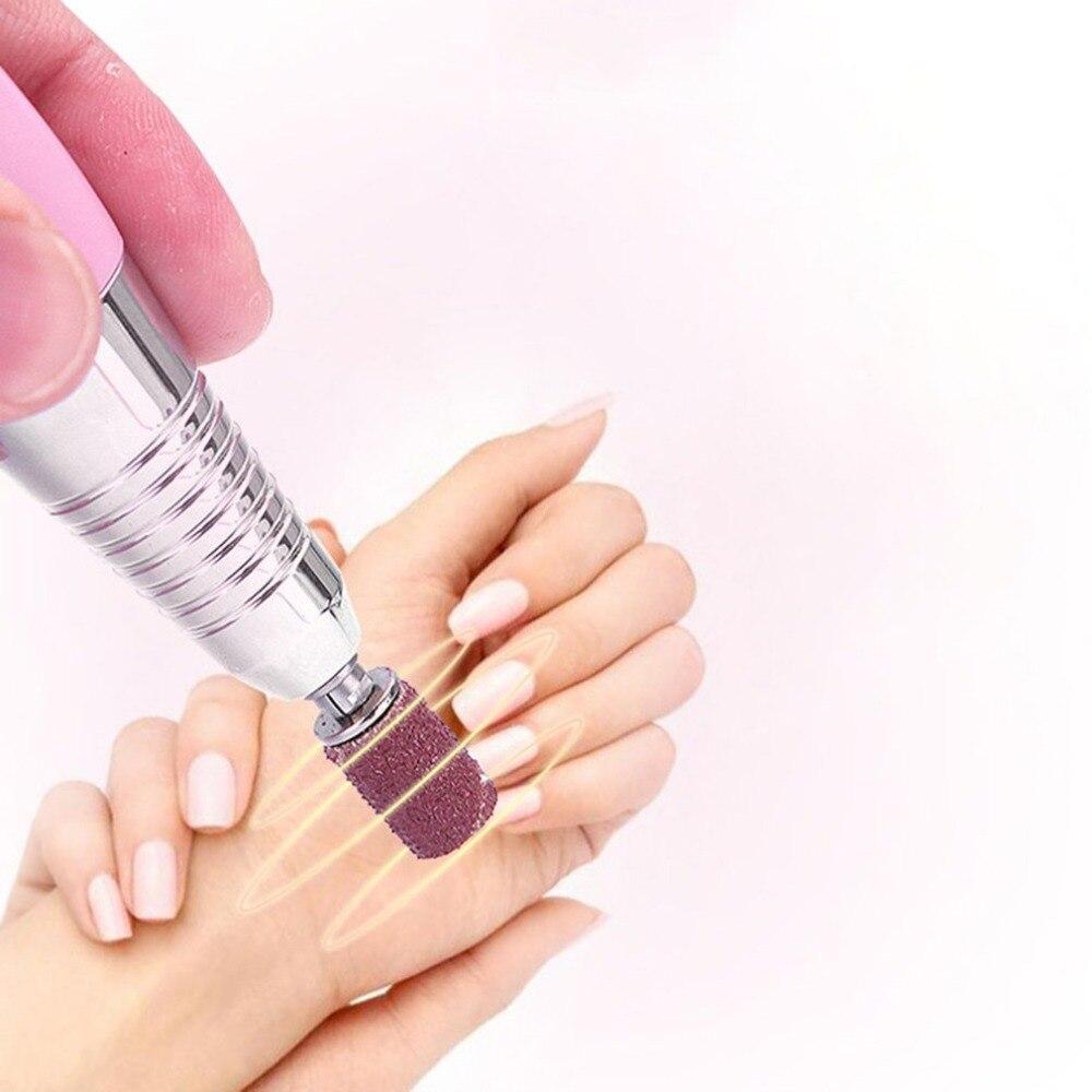 20 Вт 25000 об/мин Портативный электрический сверлильный станок для ногтей перезаряжаемый беспроводной шлифовальный станок для ногтей маникю... - 3