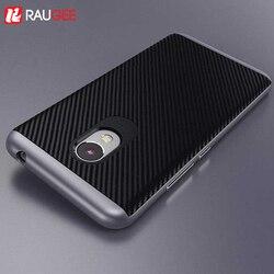 Hacrin Meizu M3S mini Cas TPU De Silicium Hybride + PC Double Couche Cadre Retour Housse De Protection Pour Meizu M3 mini Mobile Téléphone