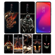 Phone Pattern Black Rubber Soft Silicone Case Bag Cover for Redmi 7A Note 7 6 7S Y3 K20 Pro Core Shell Disturbed Rock Band lost(China)